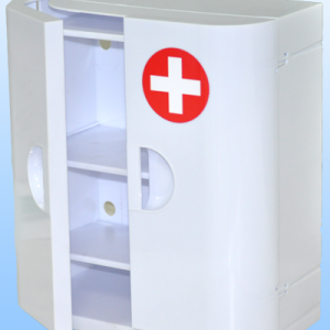 Шкафчик навесной, полка закрытая для медикаментов