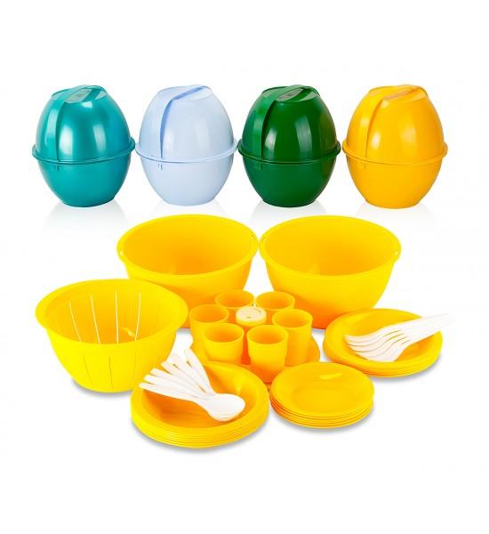 Набор пластмассовой посуды купить в Минске