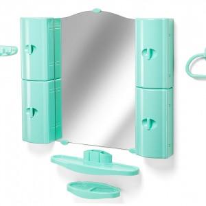 Набор для ванной (зеркало со шкафчиками), Белпласт 11