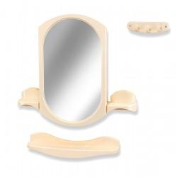 Зеркало для ванной овальное, Купалинка