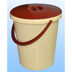 Ведро с крышкой 8л ( для пищевых продуктов )