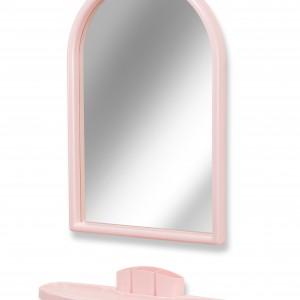 Зеркало для ванной с полкой, Белпласт-мини