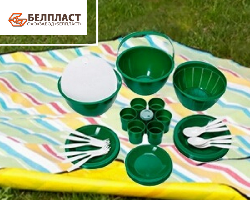 посуда для пикника многоразовая